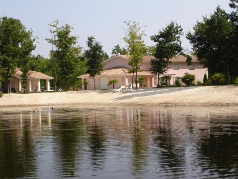 La résidence au bord du lac